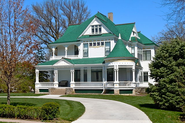 restored Victorian houses