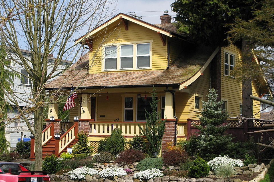An example of craftsman homes in the Hilltop neighborhood of Tacoma, Wash.