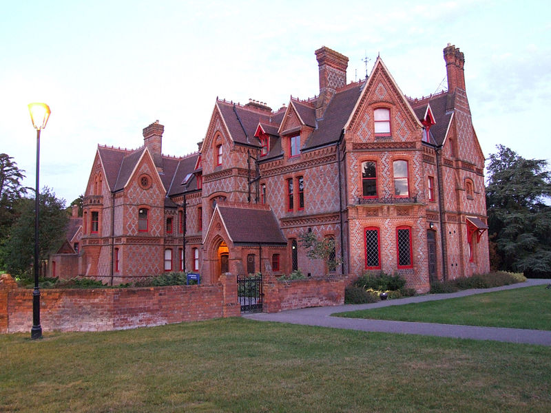 Photo of Fox Hill House - example of Gothic Architecture.