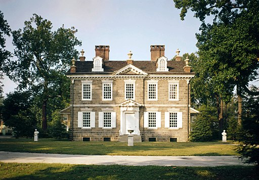 The most historic towns in America: Photo of Clivendon Mansion in Philadelphia.
