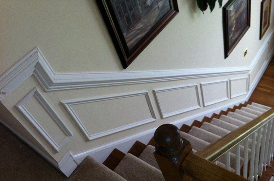 Add Wainscoting for an Old-World Feel and Modern Durability