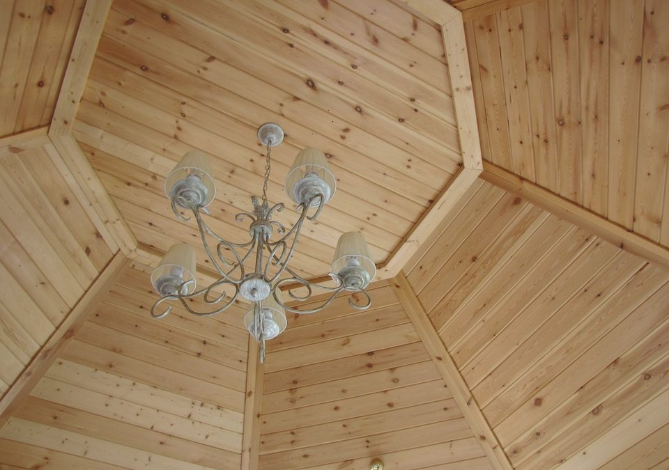 wood ceiling for renovation
