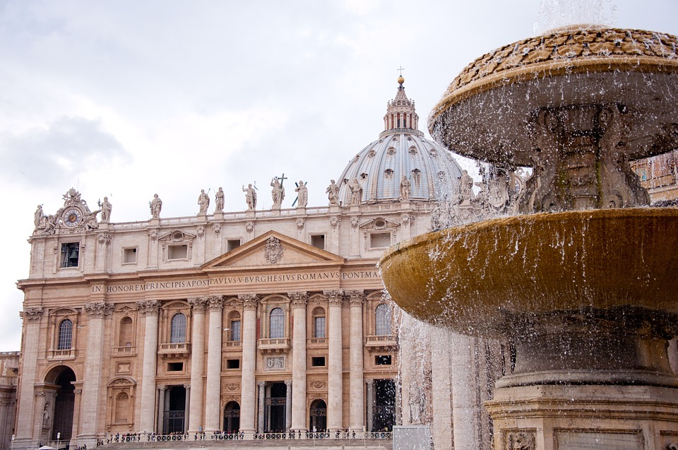 oldest church in the world - St Peter's Basilica